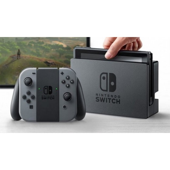 Nintendo Switch console grey - grigia the gamebusters