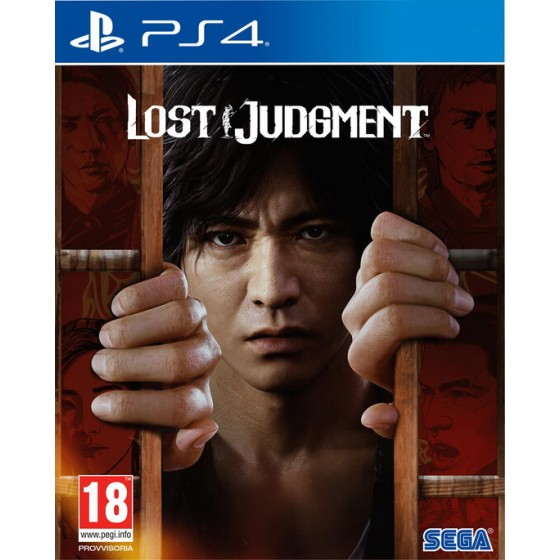 Lost Judgment - PS4