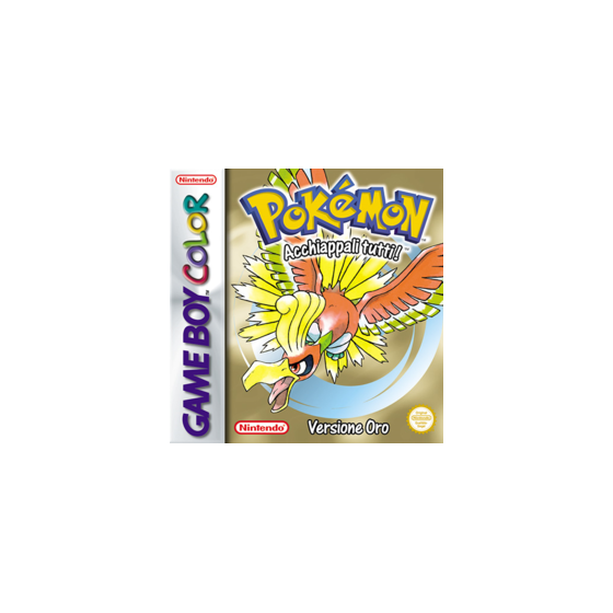 Pokemon Versione Oro - Game Boy Color