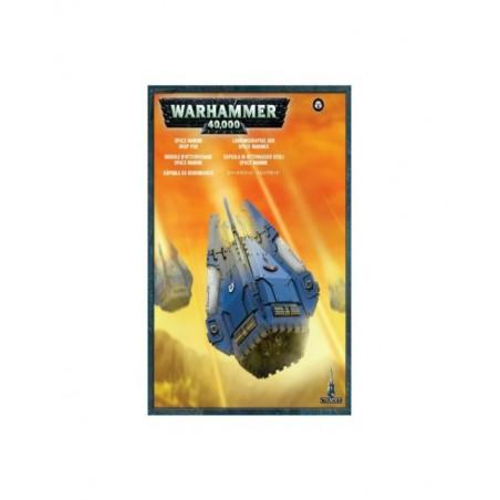 Warhammer 40.000 - Capsula di atterraggio Space Marine - Drop Pod