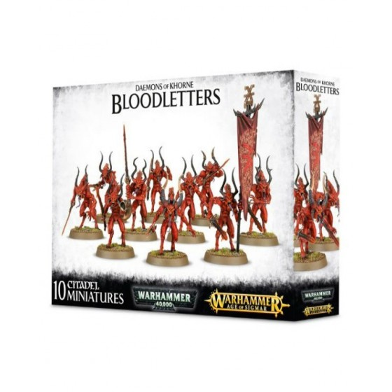 Warhammer 40.000 - Daemons Of Khorne Bloodletters - The Gamebusters