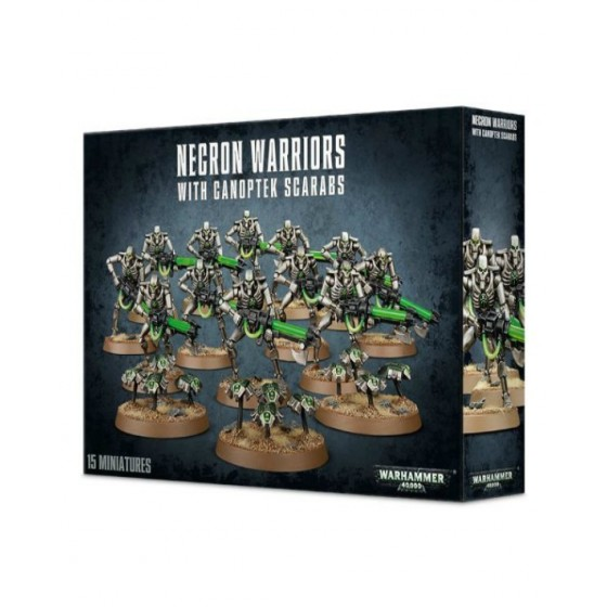 Warhammer 40.000 - Necron Warriors with Canoptek Scarabs