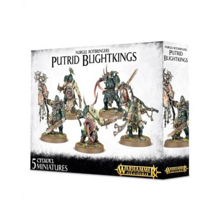 Warhammer Age of Sigmar - Nurgle Rotbringers Putrid Blightkings - The Gamebusters