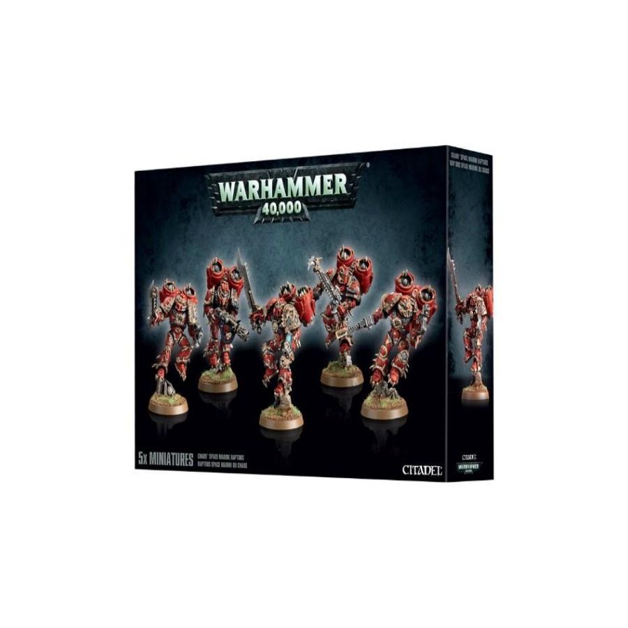 Warhammer 40.000 - Space Marine Del Caos Predatori