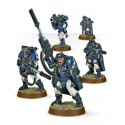 Warhammer 40.000 - Space Marine Scout With Sniper Rifles