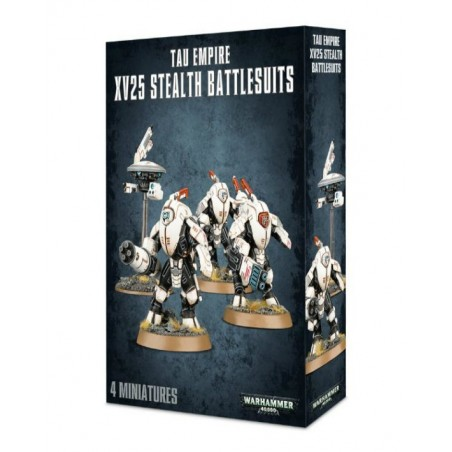 Warhammer 40.000 - Tau Empire XV25 Stealth Battlesuits