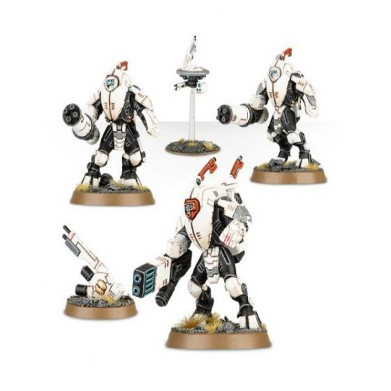 Warhammer 40.000 - Tau Empire XV25 Stealth Battlesuits