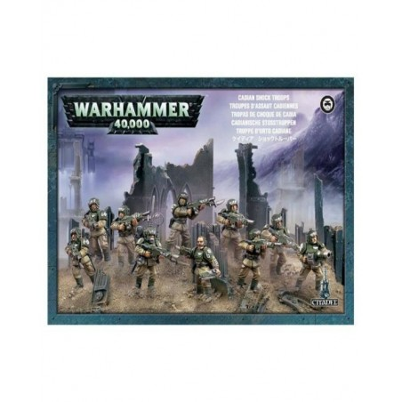 Warhammer 40.000 - Cadian Shock Troops