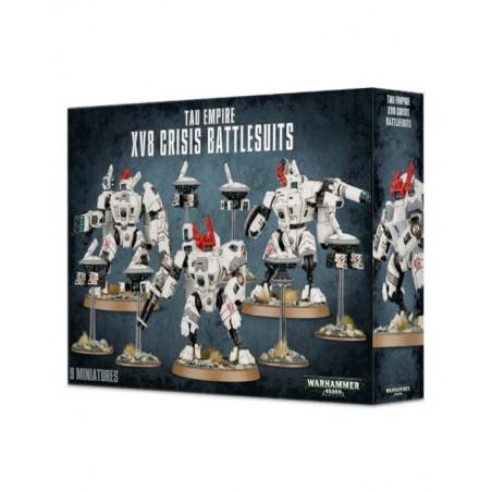 Warhammer 40.000 - Tau Empire XV8 Crisis Battlesuits