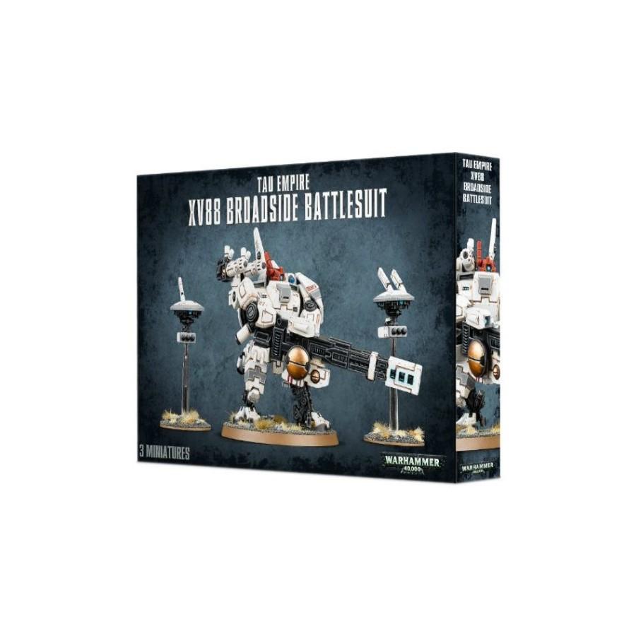Warhammer 40.000 - Tau Empire XV88 Broadside Battlesuit - The Gamebusters