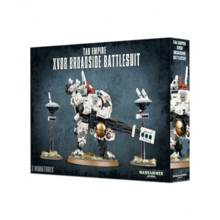 Warhammer 40.000 - Tau Empire XV88 Broadside Battlesuit - The Gamebusters