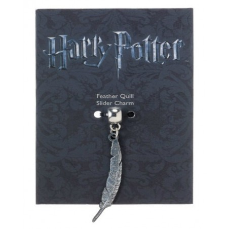 The Carat shop Ltd Charm - Ciondolo Penna Piuma - Harry Potter