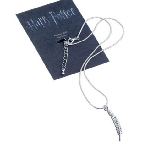 The Carat Shop Charm - Collana con ciondolo - Piuma D'oca - Harry Potter