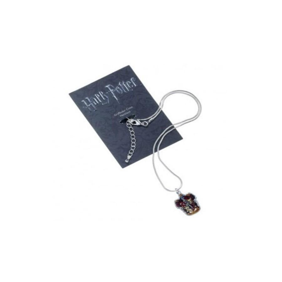 The Carat Shop Charm - Collana con ciondolo - Stemma Grifondoro - Harry Potter