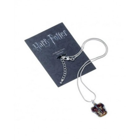 The Carat Shop Charm - Collana con ciondolo - Stemma Grifondoro - Harry Potter