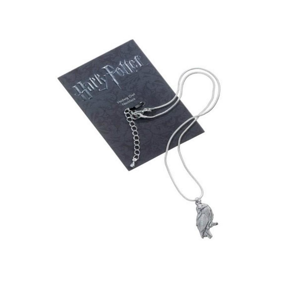 The Carat shop Charm - Collana con Ciondolo - Edvige - Harry Potter