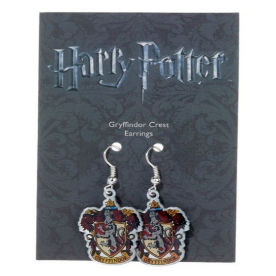 The Carat Shop Charm - Orecchini Stemma Grifondoro - Harry Potter