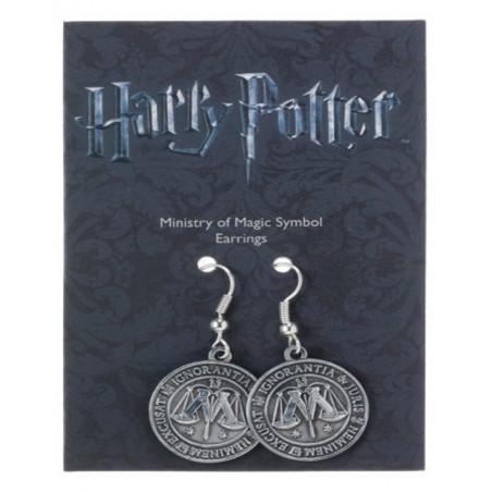 Harry Potter - Orecchini Stemma Ministero della Magia