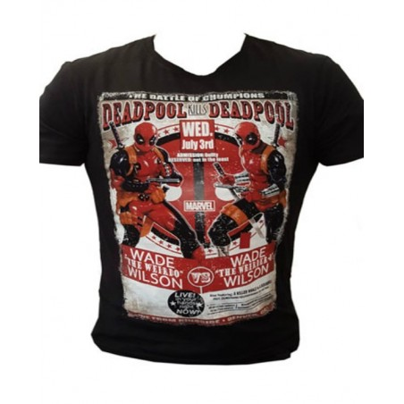 T-Shirt - Deadpool - Deadpool kills Deadpool
