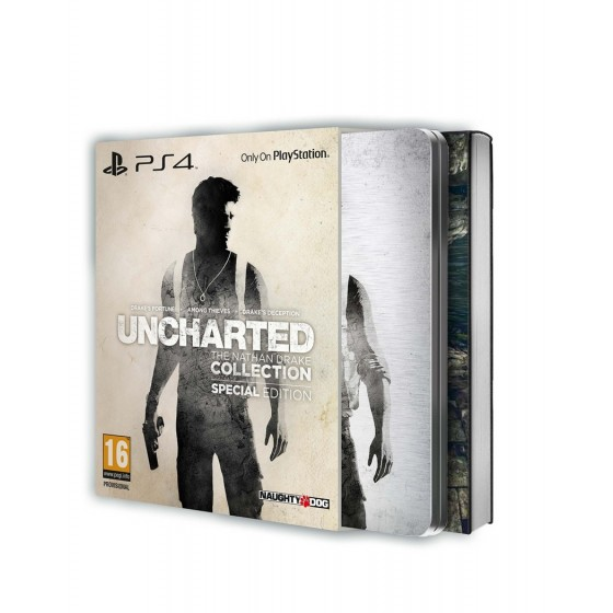 Uncharted The Nathan Drake Collection - Special Edition - PS4