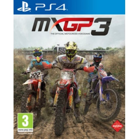 MXGP 3: The Official Motocross Videogame - PS4