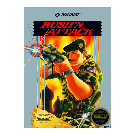 Rush'n Attack - NES
