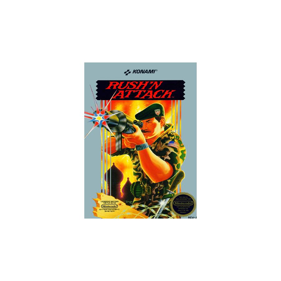 Rush'n Attack - NES