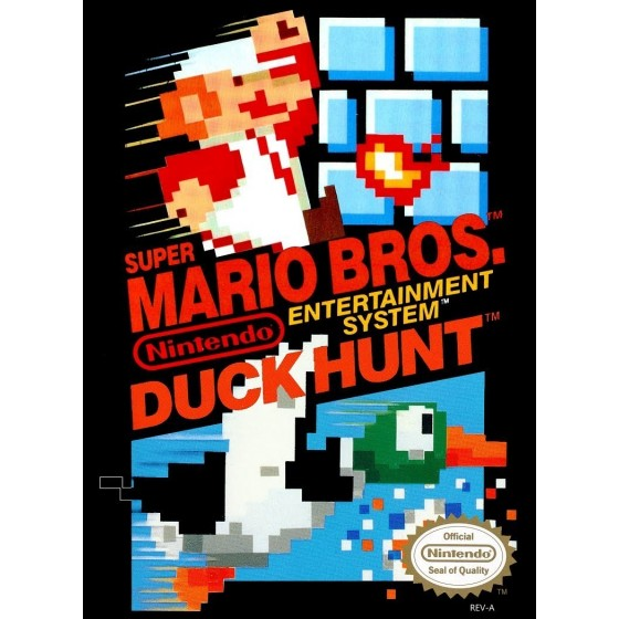 Super Mario Bros/Duck Hunt - NES