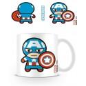 Tazza - Capitan America Kawaii - Marvel