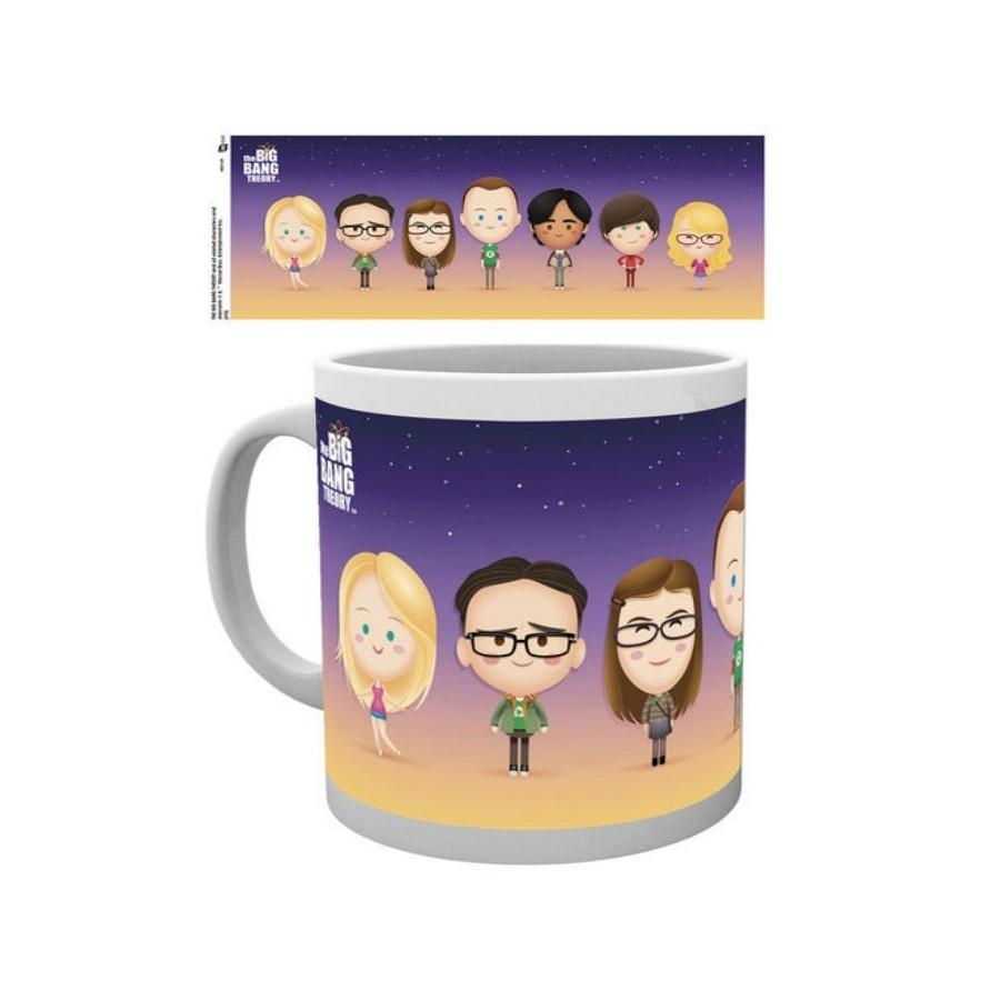 Tazza - The Bing Bang Theory - I Personaggi
