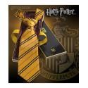 The Noble Collection Cravatta - Tassorosso - Harry Potter