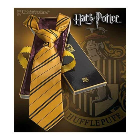 The Noble Collection - Cravatta Tassorosso - Harry Potter