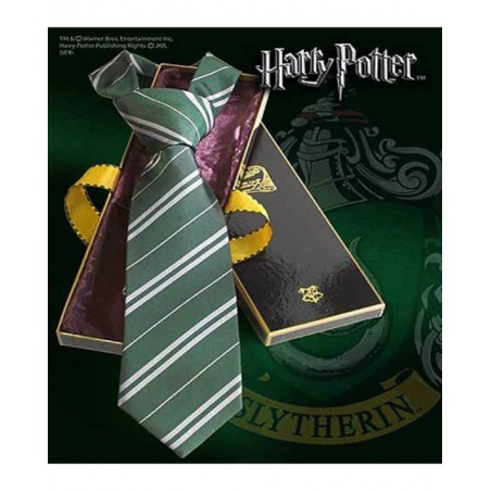 The Noble Collection Cravatta Serpeverde - Harry Potter