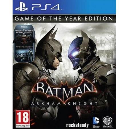 Batman Arkham Knight - GOTY - PS4
