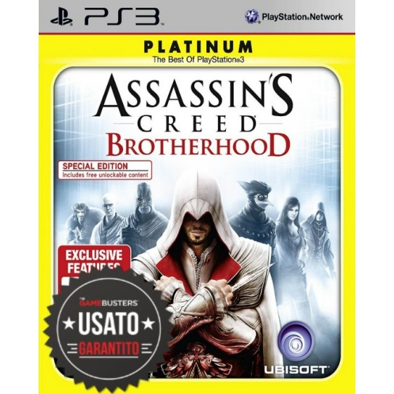 Assassin's Creed Brotherhood - Platinum