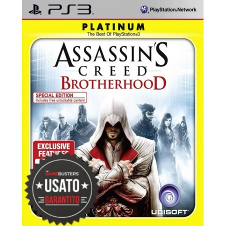 Assassin's Creed Brotherhood - Platinum