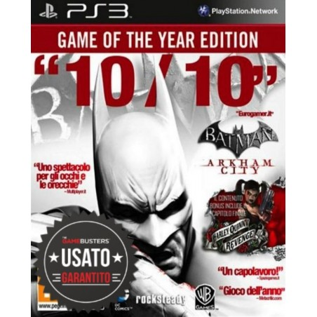 Batman Arkham City - Goty Edition - PS3