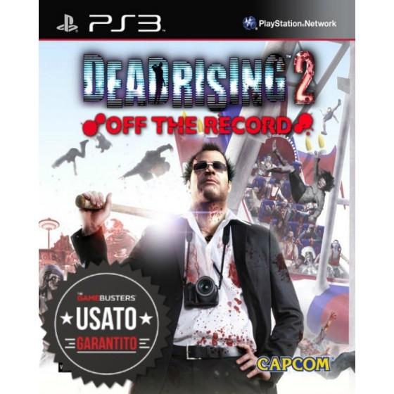Dead Rising 2 Off the Record - PS3 usato
