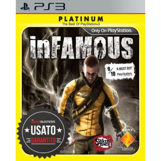 Infamous - Platinum - PS3