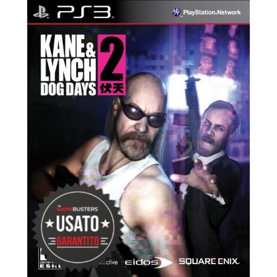 Kane & Lynch 2 Dog Days - PS3 usato