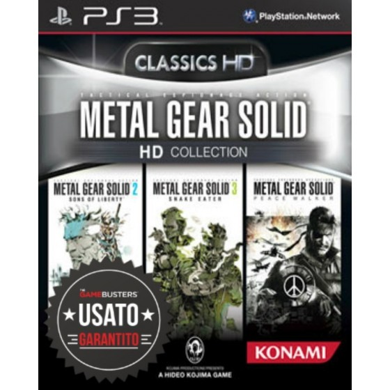 Metal Gear Solid HD Collection - PS3 usato