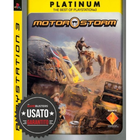 MotorStorm - Platinum - PS3