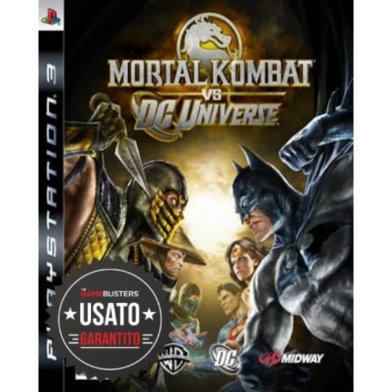 Mortal Kombat vs DC Universe - PS3 usato