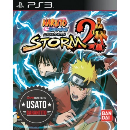 Naruto Shippuden: Ultimate Ninja Storm 2 - PS3 usato