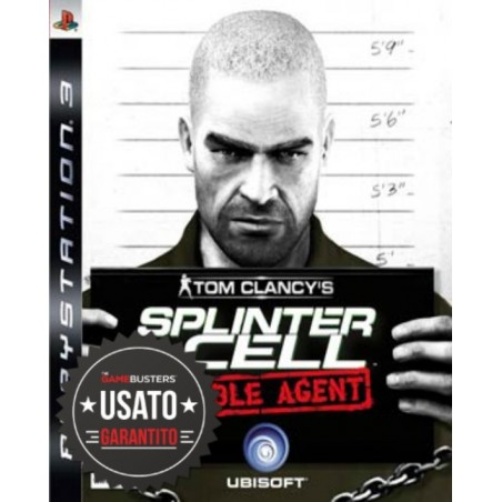 Splinter Cell Double Agent - PS3 usato