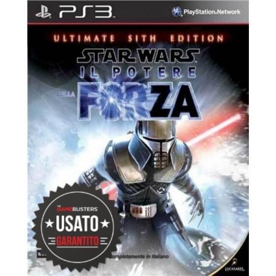 Star Wars Il Potere della Forza - Ultimate Sith Edition - PS3 usato
