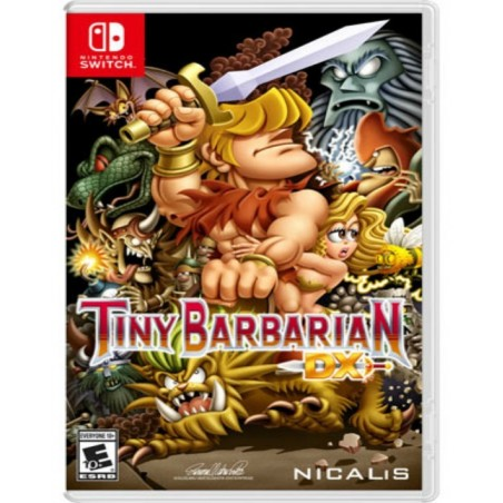 Tiny Barbarian DX - Launch Edition