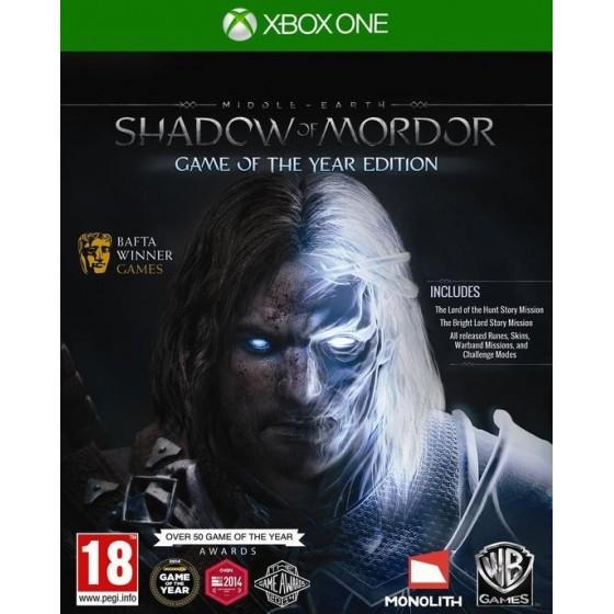 La Terra di Mezzo: L'Ombra di Mordor - GOTY - Xbox One
