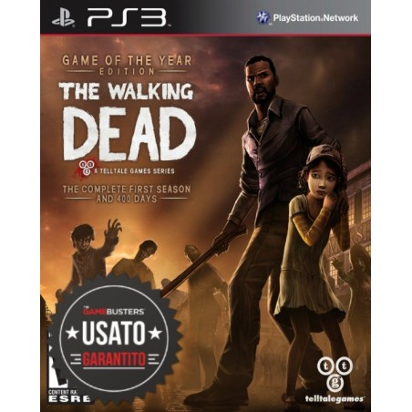 The Walking Dead - GOTY Edition - PS3 usato