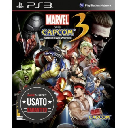 Marvel vs Capcom 3 Fate of Two Worlds - PS3 usato